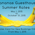 Guesthouse Summer Rates